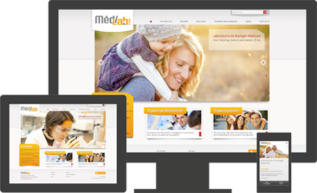 site médilab group