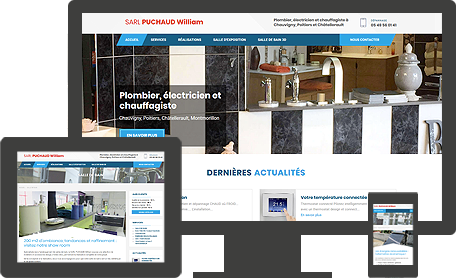 site SARL Puchaud William