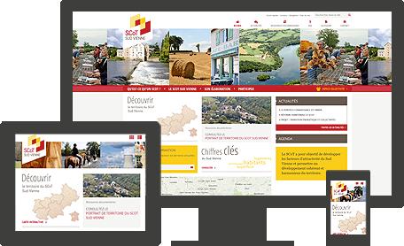 site SCoT Sud Vienne