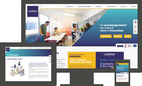 site internet responsive CEI 86