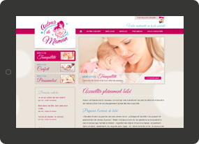Wordpress Coach autour de maman