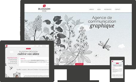 site web Blossom création